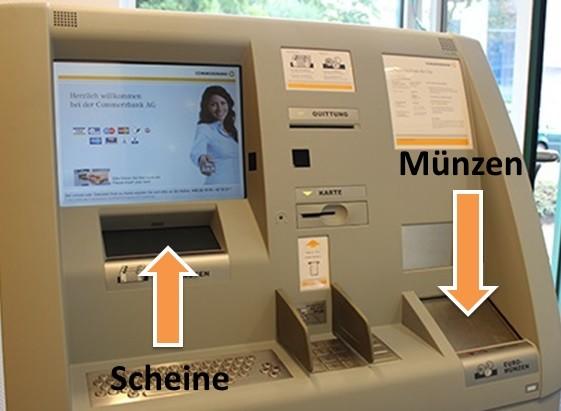 Einzahlung Deutsche Bank