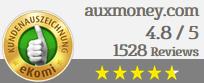 Auszeichnung Auxmoney